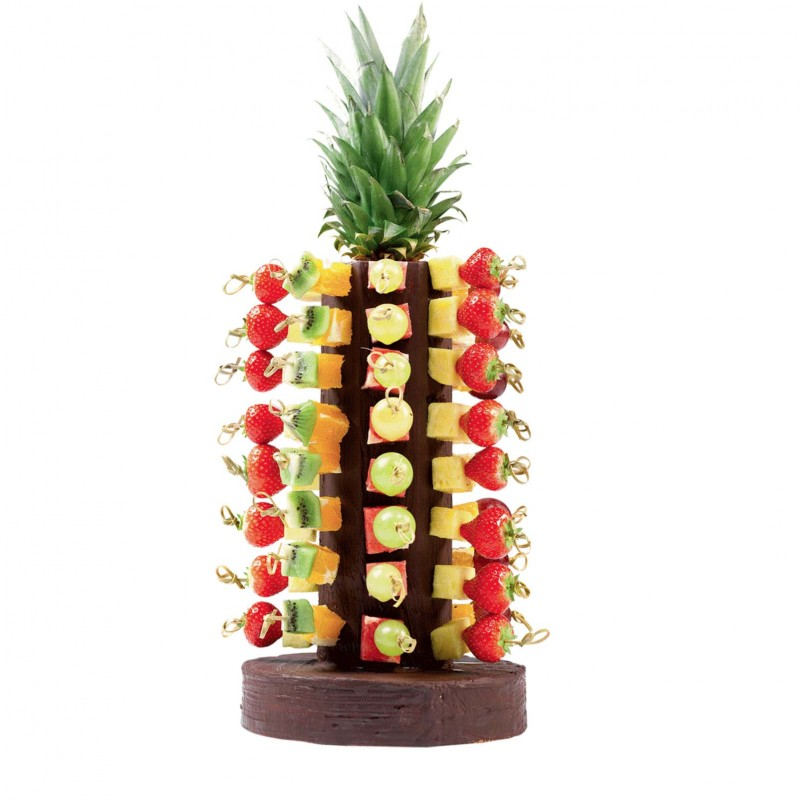 Les brochettes de fruits - Presentation de brochette de fruits ...