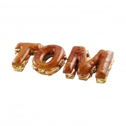 Lettre/chiffre 10 toasts garnis
